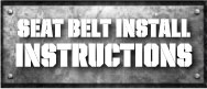 Seat Belt Instructions