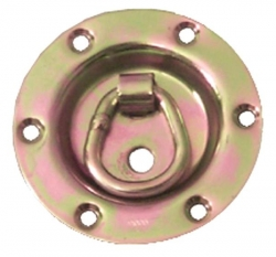 2500 lb. Recessed Round Swivel D-Ring