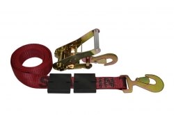 Low Profile Tire Block Strap w/ Ratchet