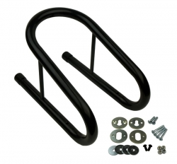 "M&R Products Removable Wheel Chock - 3.5"" Wide (BLACK)"