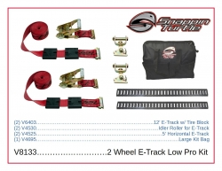2 Wheel Direct E-Track Low Pro Kit