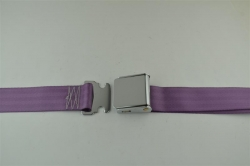 "Wisteria 60"" Chrome Lift Buckle 2 Point Seat Belt"